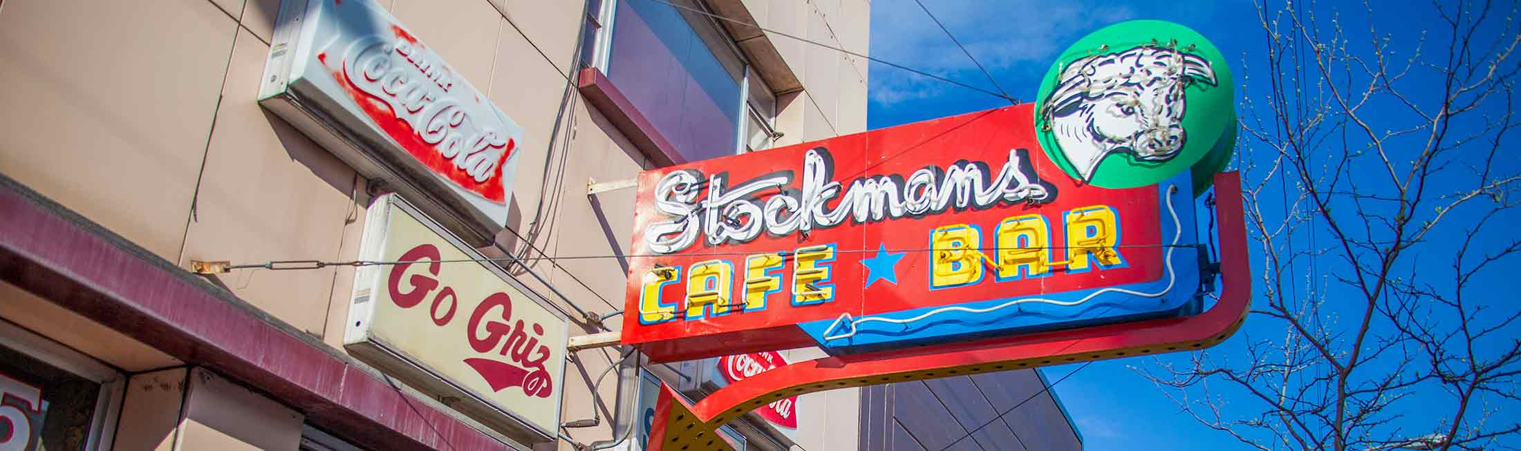 Stockman's Bar and Cafe in Downtown