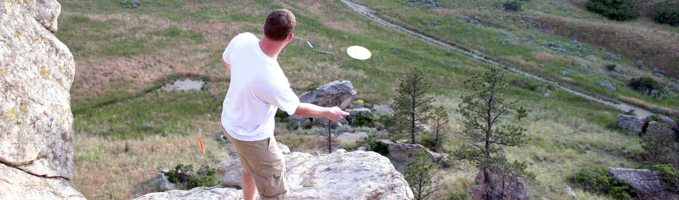 Disc Golf (Folf) in Missoula, Montana