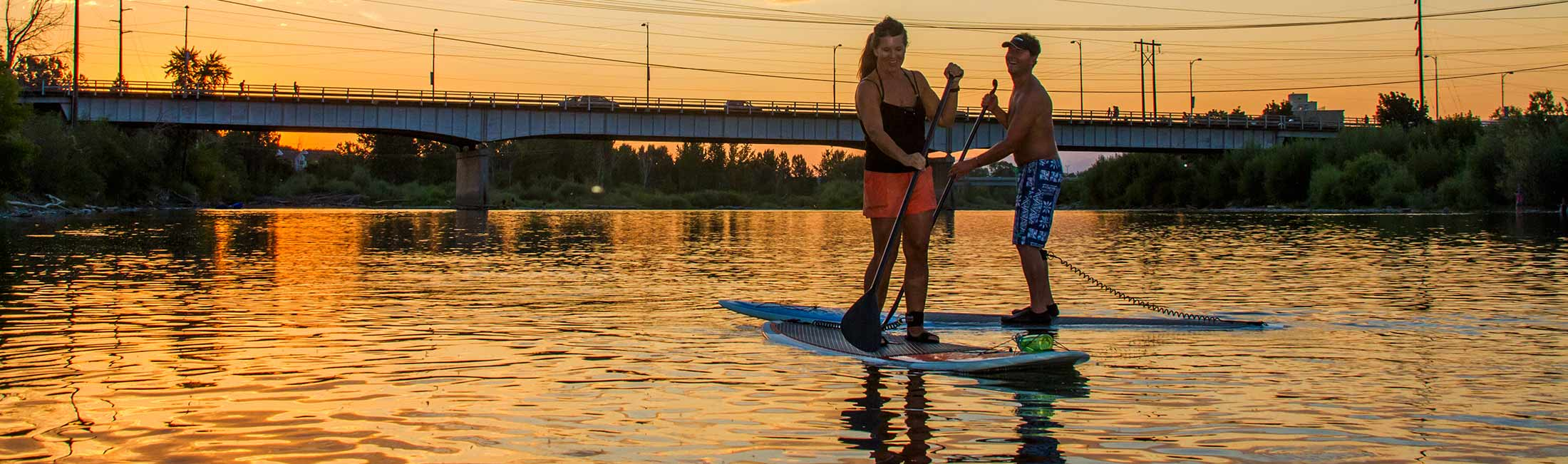 Stand Up Paddle Boarding in Missoula, Montana